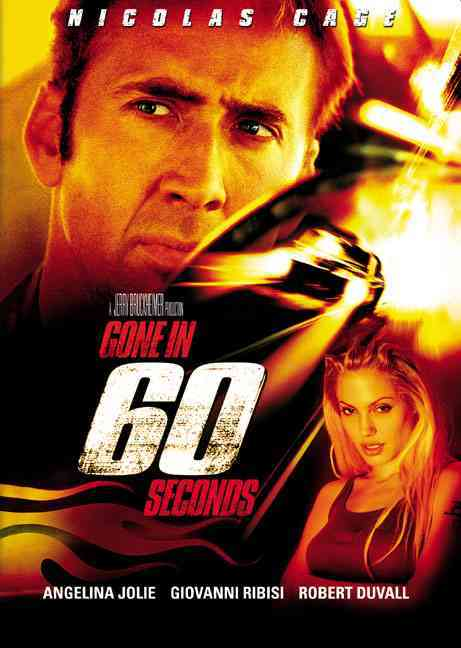 GONE IN 60 SECONDS BY CAGE,NICOLAS (DVD)